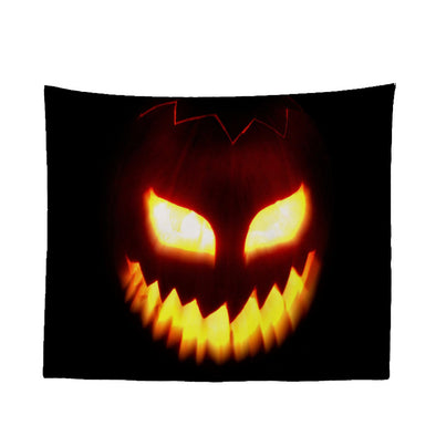 Halloween Tapestry, Wall Hanging Tapestry