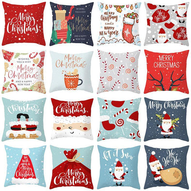 Christmas Decoration Cushion Cover For Home