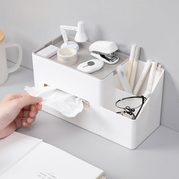 Multifunctional Tissue Storage Box