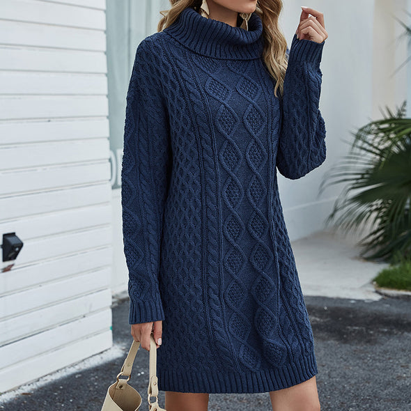 Women's Knit Sweater Dress