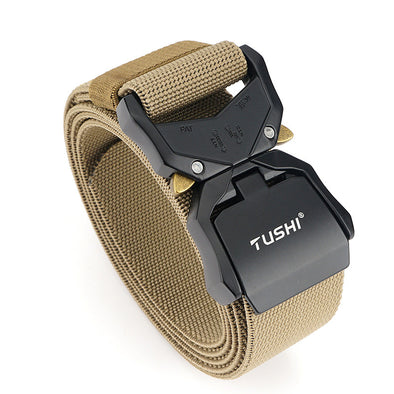 Aluminum Buckle Tactical Belt