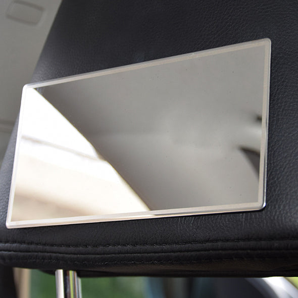Car Cosmetic Mirror Stainless Steel