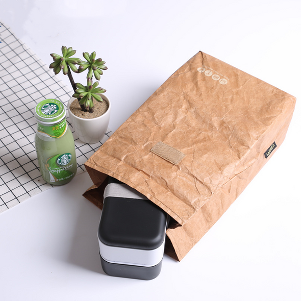 1.59 Gallon Kraft Paper Lunch Cooler Bag