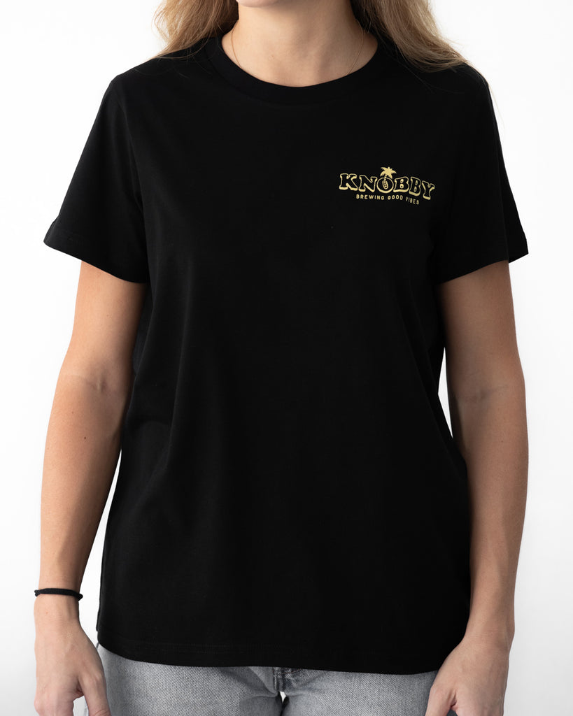 Women's T-Shirt / Black / Hula T-Shirt