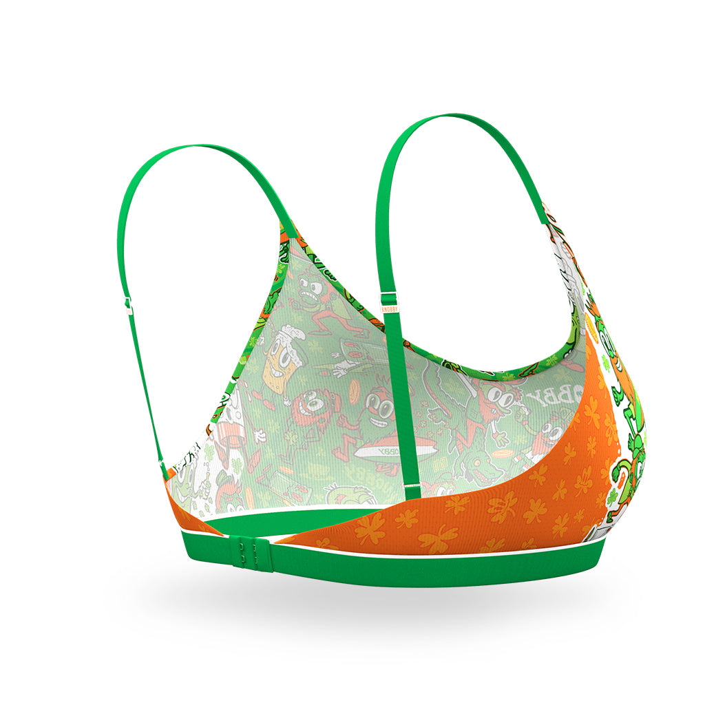 Women's Bralette / Luck 'O' The Irish