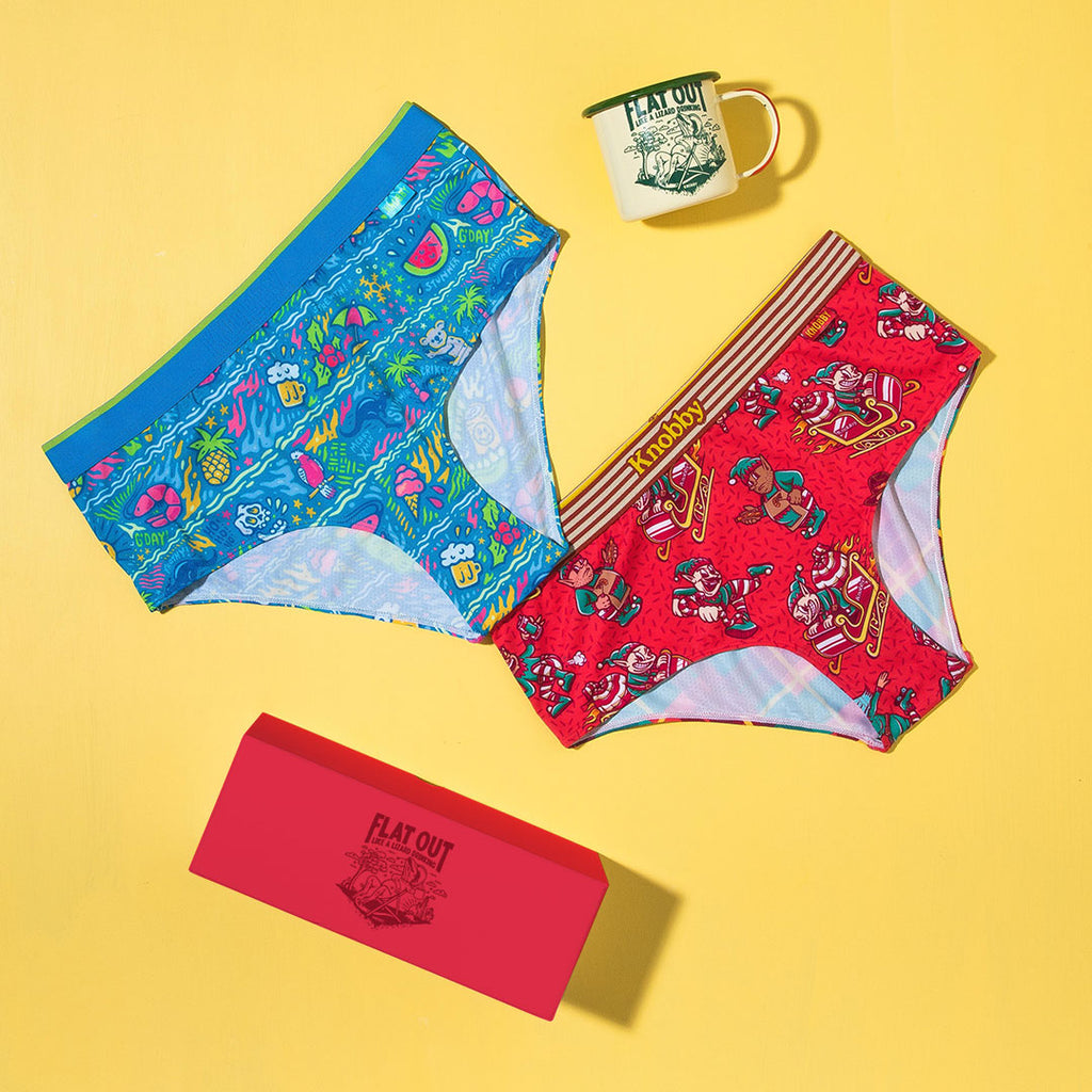 Women's Gift Pack / High Waisted Cheeky