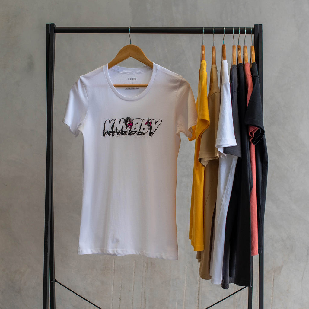 Women's T-Shirt / White / Cafe Racer