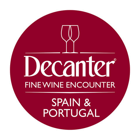 Mesa de ganadores de DWWA 2019 en el Decanter Spain & Portugal Fine Wine Encounter 2020