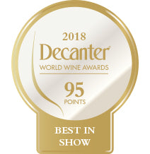 DWWA 2018 Platinum Best in Show 95 Points - Printed in rolls of 1000 stickers