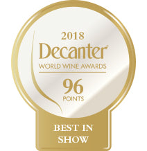 DWWA 2018 Platinum Best in Show 96 Points - Printed in rolls of 1000 stickers