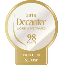 DWWA 2018 Platinum Best in Show 98 Points - Printed in rolls of 1000 stickers