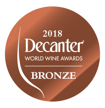 DWWA 2018 Bronze GENERIC - Printed in rolls of 1000 stickers