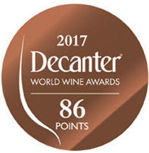 DWWA 2017 Bronze 86 Points - Printed in rolls of 1000 stickers
