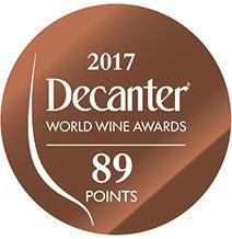 DWWA 2017 Bronze 89 Points - Printed in rolls of 1000 stickers