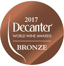 DWWA 2017 Bronze GENERIC - Printed in rolls of 1000 stickers