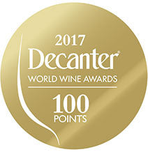 DWWA 2017 Gold 100 Points - Printed in rolls of 1000 stickers