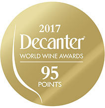 DWWA 2017 Gold 95 Points - Printed in rolls of 1000 stickers