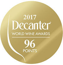 DWWA 2017 Gold 96 Points - Printed in rolls of 1000 stickers