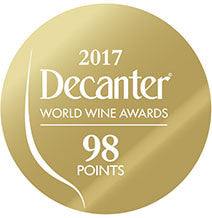 DWWA 2017 Gold 98 Points - Printed in rolls of 1000 stickers