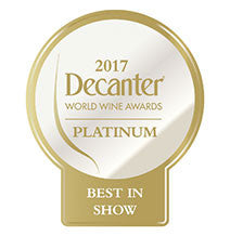 DWWA 2017 Platinum Best in Show GENERIC - Printed in rolls of 1000 stickers
