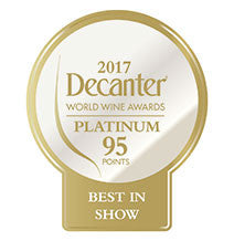 DWWA 2017 Platinum Best in Show 95 Points - Printed in rolls of 1000 stickers