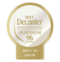 DWWA 2017 Platinum Best in Show 96 Points - Printed in rolls of 1000 stickers