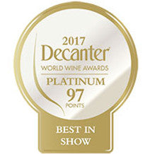 DWWA 2017 Platinum Best in Show 97 Points - Printed in rolls of 1000 stickers