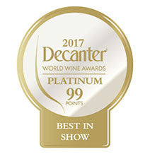 DWWA 2017 Platinum Best in Show 99 Points - Printed in rolls of 1000 stickers