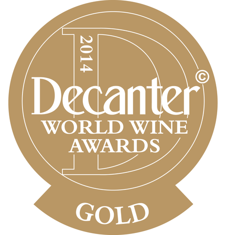 DWWA 2014 Gold Bottle Stickers - Roll of 1000