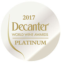 DWWA 2017 Platinum GENERIC - Printed in rolls of 1000 stickers