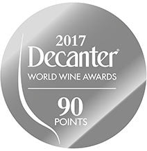 DWWA 2017 Silver 90 Points - Printed in rolls of 1000 stickers