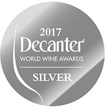 DWWA 2017 Silver GENERIC - Printed in rolls of 1000 stickers