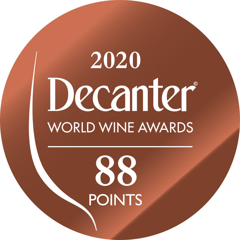 DWWA 2020 Bronze 88 Points - Printed in rolls of 1000 stickers