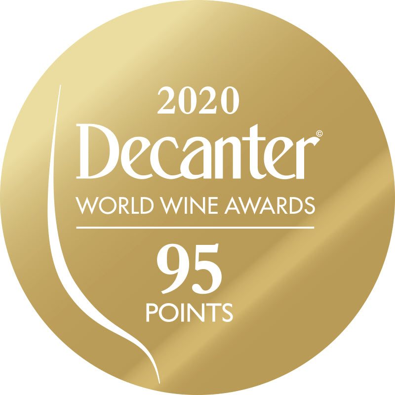 DWWA 2020 Gold 95 Points - Printed in rolls of 1000 stickers