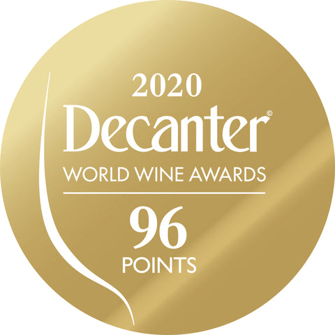 DWWA 2020 Gold 96 Points - Printed in rolls of 1000 stickers