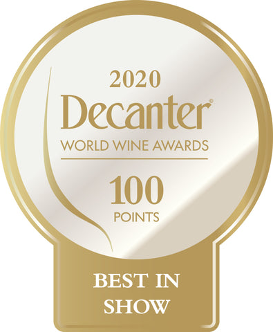 DWWA 2020 Best in Show 100 Points - Printed in rolls of 1000 stickers