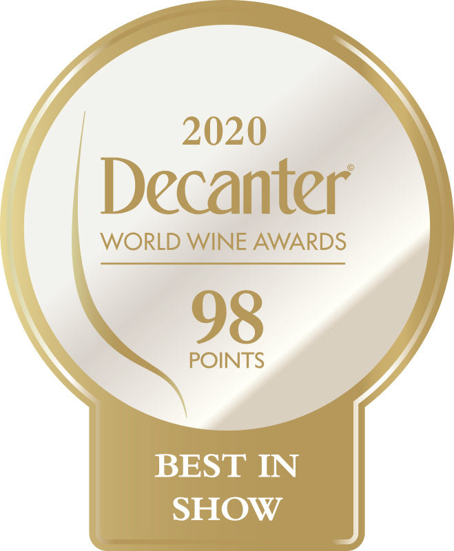 DWWA 2020 Best in Show 98 Points - Printed in rolls of 1000 stickers
