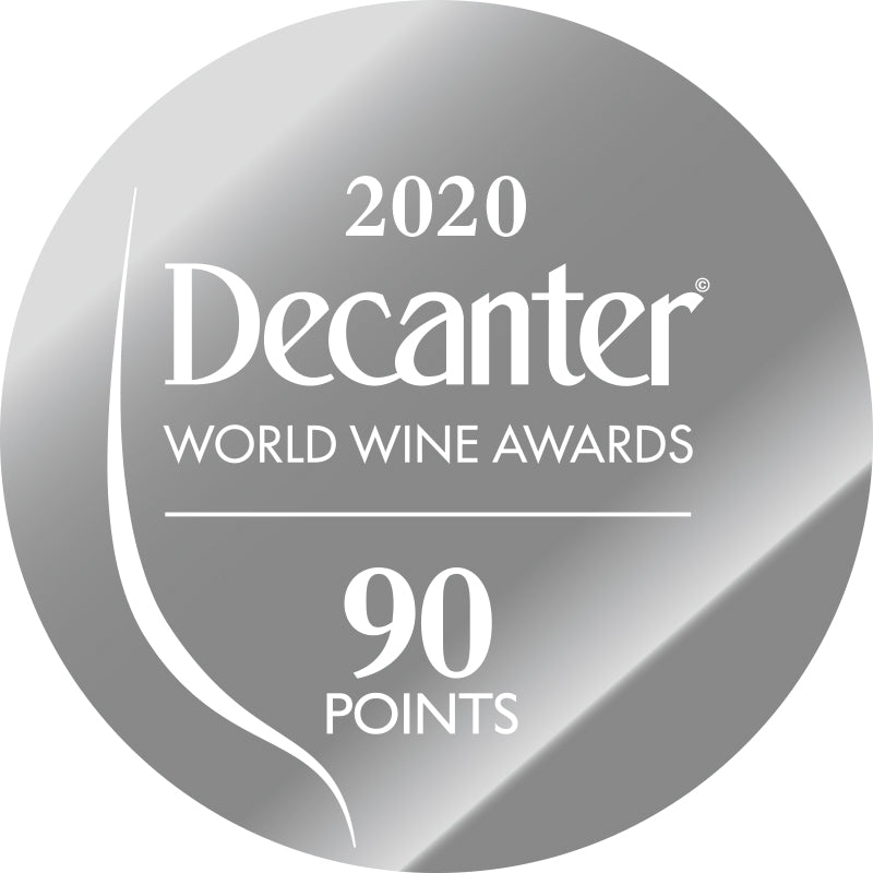 DWWA 2020 Silver 90 Points - Printed in rolls of 1000 stickers