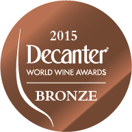 DWWA 2015 Bronze Bottle Stickers - Roll of 1000