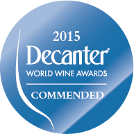 DWWA 2015 Commended Bottle Stickers - Roll of 1000