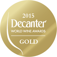 DWWA 2015 Gold Bottle Stickers - Roll of 1000