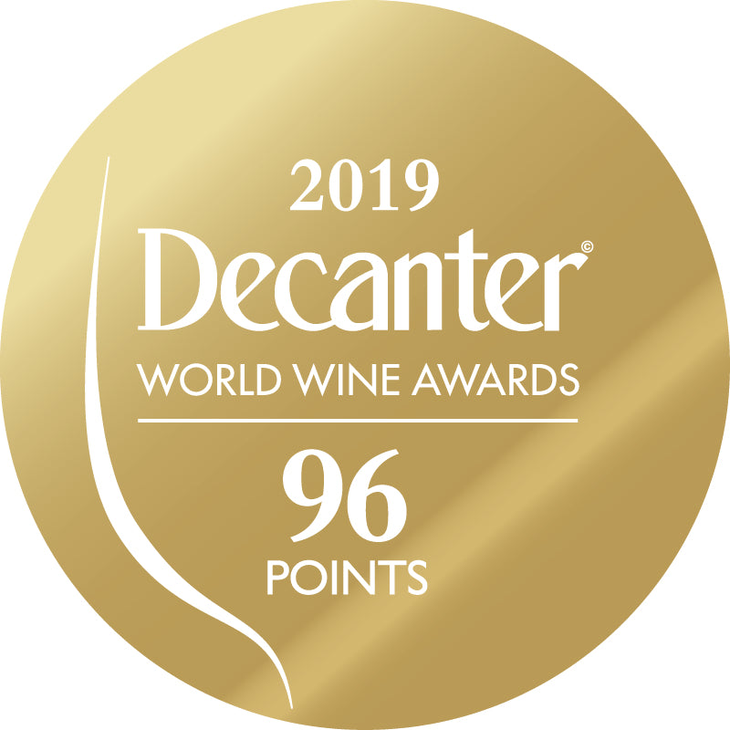 DWWA 2019 Gold 96 Points - Printed in rolls of 1000 stickers