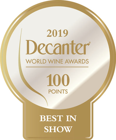 DWWA 2019 Best in Show 100 Points - Printed in rolls of 1000 stickers