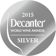 DWWA 2015 Silver Bottle Stickers - Roll of 1000