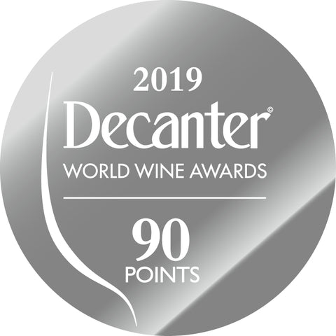 DWWA 2019 Silver 90 Points - Printed in rolls of 1000 stickers
