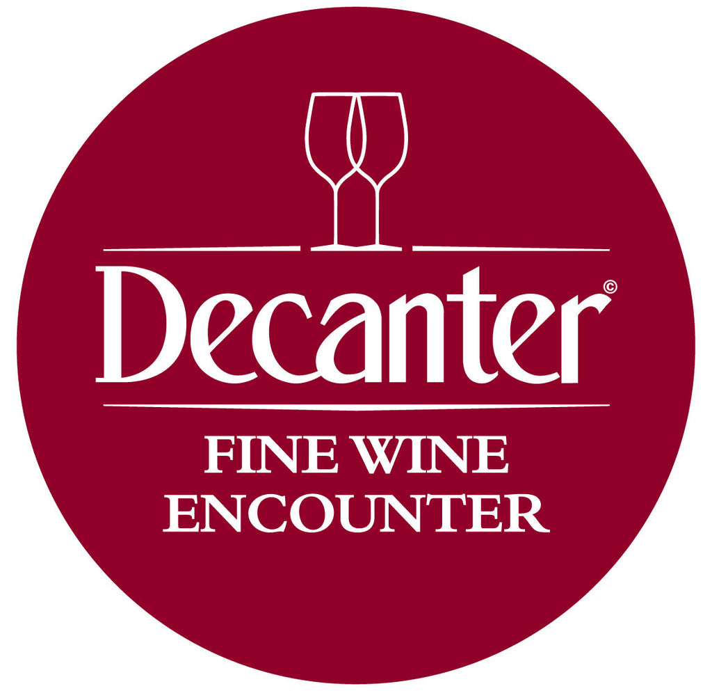DWWA 2017 Winners Table at the Decanter Fine Wine Encounter