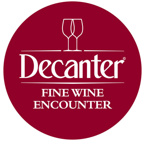 DWWA 2018 Winners Table at the Decanter Fine Wine Encounter