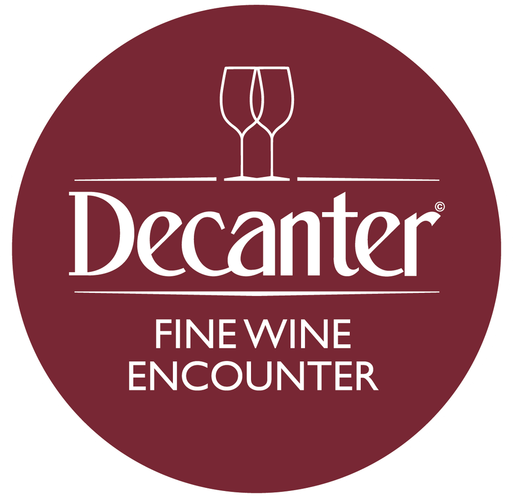 DWWA 2019 Winners Table at the Decanter Fine Wine Encounter