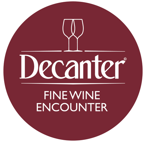 Mesa de ganadores de DWWA 2019 en el Decanter Fine Wine Encounter