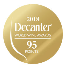 DWWA 2018 Gold 95 Points - Printed in rolls of 1000 stickers